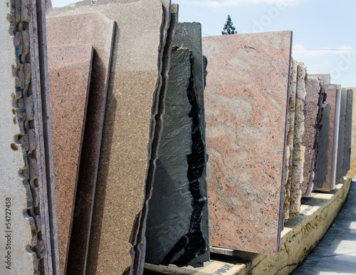 Fotografía  Colorful granite slabs for sale