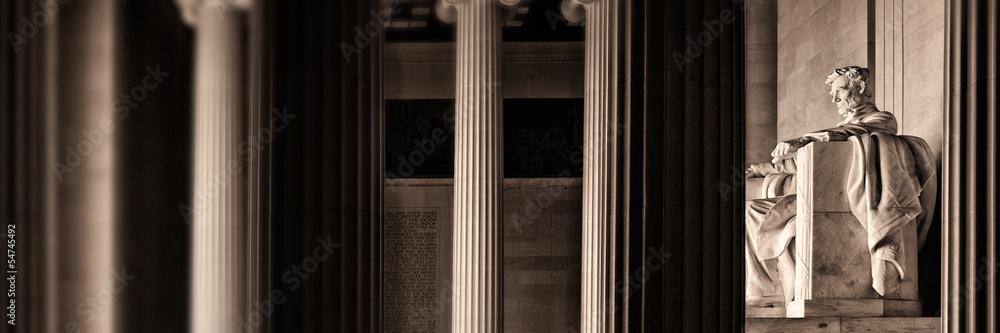 Fototapety, obrazy: The Lincoln memorial
