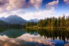 Lake Strbske Pleso, High Tatra...