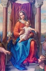 Fototapeta Vienna - Detail of fresco