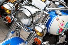 Motorrad In Individuellem Design