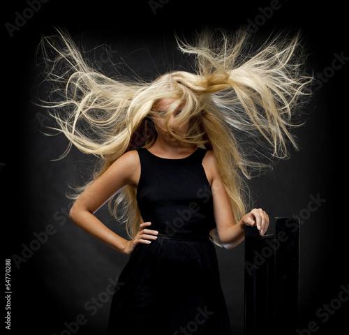 Fotografie, Obraz  Portrait of beautiful woman