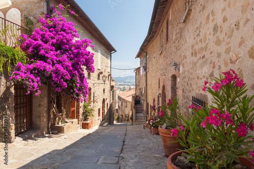 uliczka-z-fioletowymi-kwiatami-w-miasteczku-castiglione-della-pescaia-liguria-wlochy