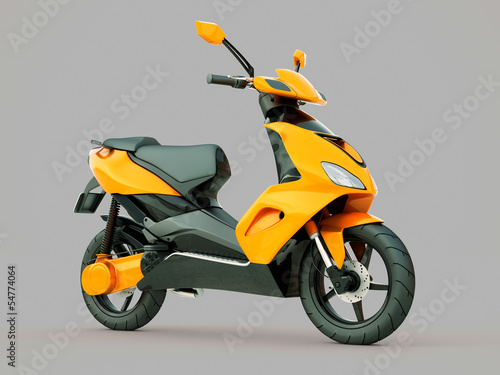 Photo Modern scooter