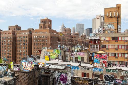 Canvas Print brooklyn graffiti