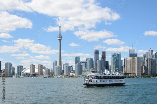 Foto auf Acrylglas Toronto Toronto Island Ferry