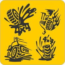 Off-ROff-Road Symbols - Vinyl-...