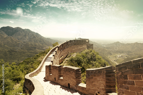 Foto op Canvas China The Great Wall of China