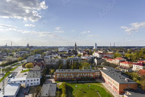 Aerial view of Bialystok, Poland © Cinematographer