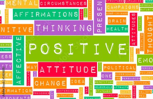Fotografering  Thinking Positive