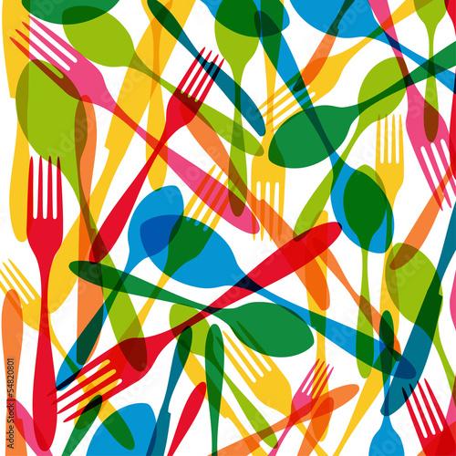 sztucce-bez-szwu-wzor-ilustracji