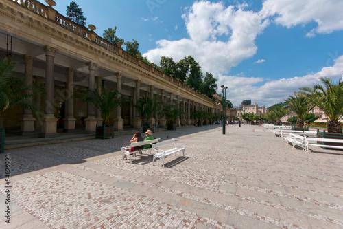 Fotografie, Obraz  Karlovy Vary, colonnade