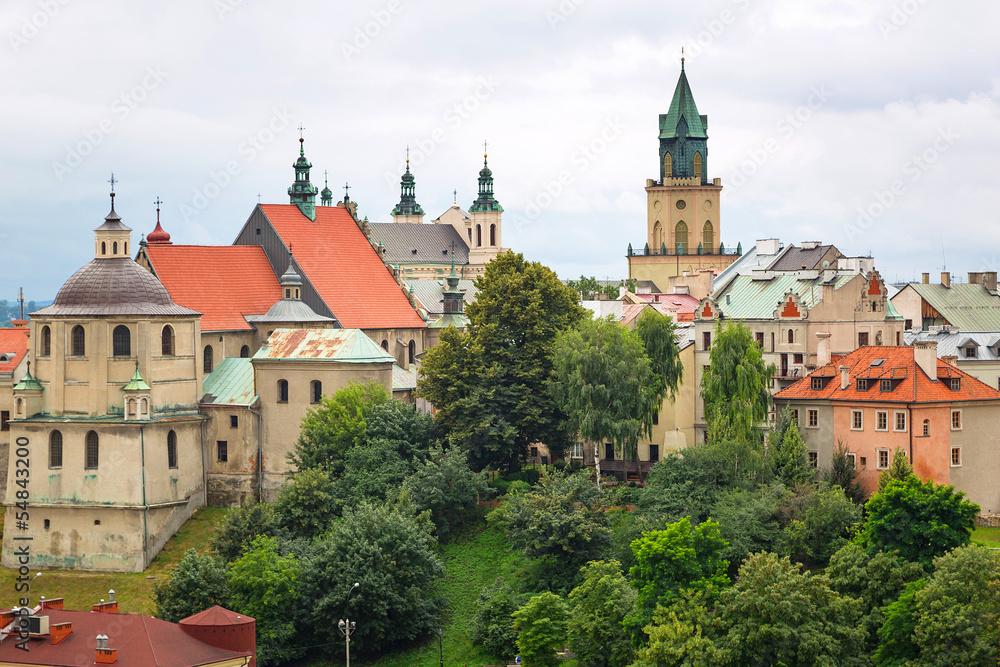 Fototapety, obrazy: Piękna architektura starego miasta w Lublinie