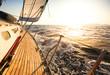 canvas print picture - Yacht, sailing regatta.