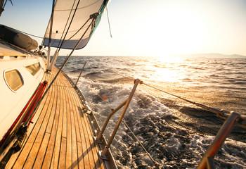 Obraz na SzkleYacht, sailing regatta.