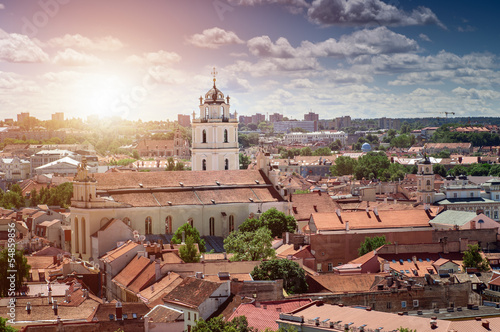 Canvas Prints Eastern Europe Vilnius Old Town, Lithuania
