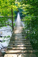 Swedish Suspension Bridge Over...