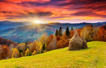 Fototapeta Góry autumn