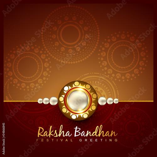 Photo  raksha bandhan festival design