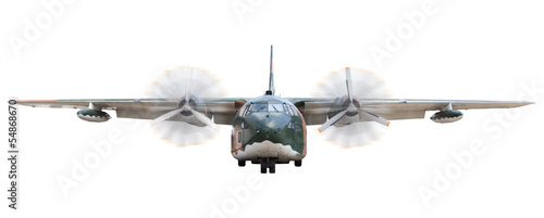 old military  transportation  plane Fototapete
