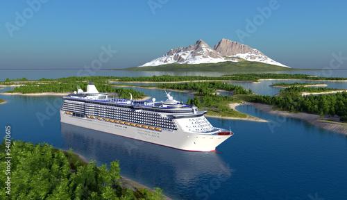 Fotografía  Passenger ship