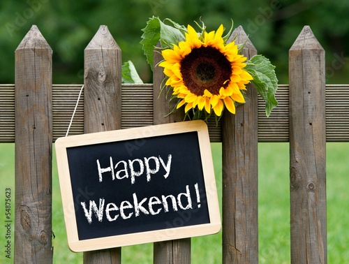 Fotografía  Happy Weekend