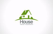 Logo House Abstract Real Estat...