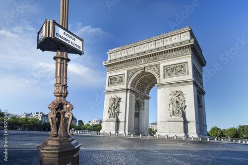 Arc de Triomphe Paris Canvas-taulu