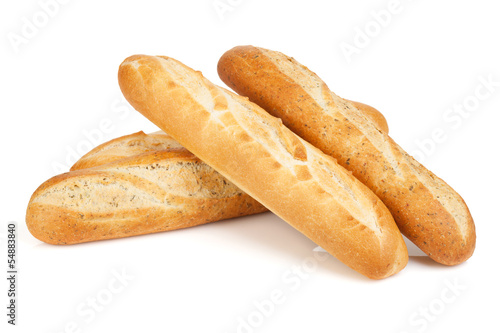 Valokuva  Various of french baguette