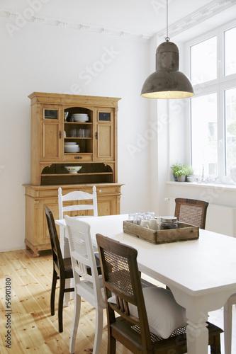 Fototapete Küche Eat-in kitchen - Kitchen table Fototapeten
