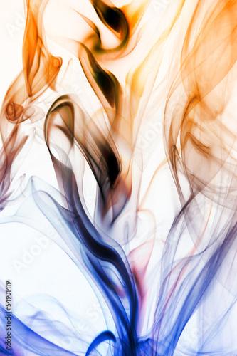 niebiesko-zolty-dym