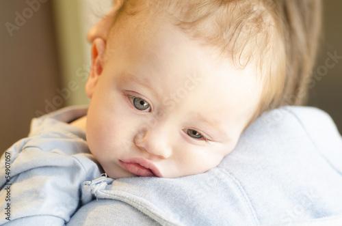Fotografia  Sick baby boy