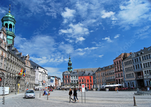 Photo  Grand Place de Mons