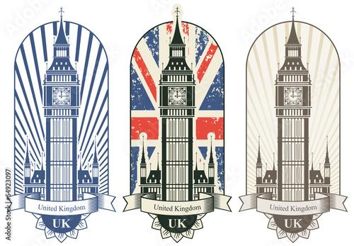 trzy-plakaty-z-big-benem-i-brytyjska-flaga