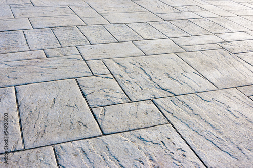 Foto background of floor with paving stones