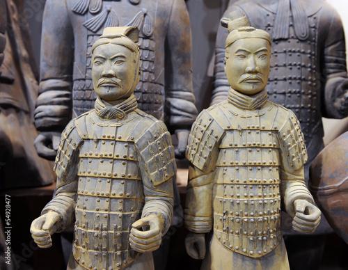 Foto op Plexiglas Xian famous Chinese terracotta army figures