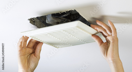 Removing Bathroom Fan Vent Cover To Clean Inside Buy This Stock - How to clean bathroom fan