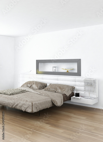 Design Bedroom Interior With Modern King Size Bed Buy This Stock Illustration And Explore Similar Illustrations At Adobe Stock Adobe Stock
