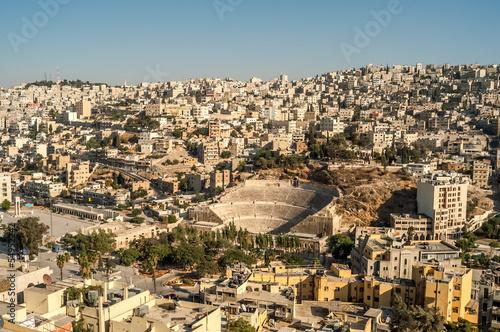 View at Amman Canvas Print
