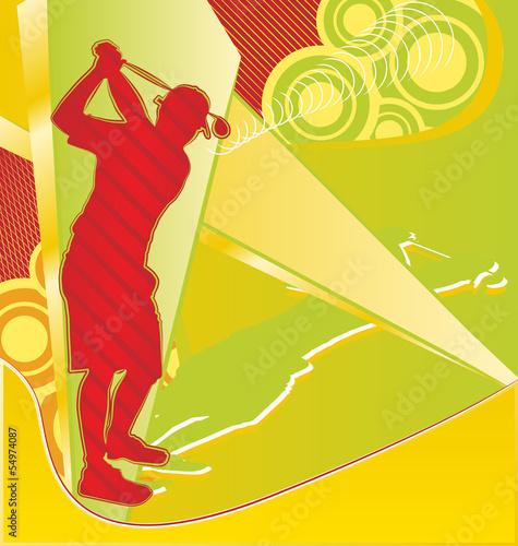 sylwetka-gracza-golfa-na-streszczenie-tlo