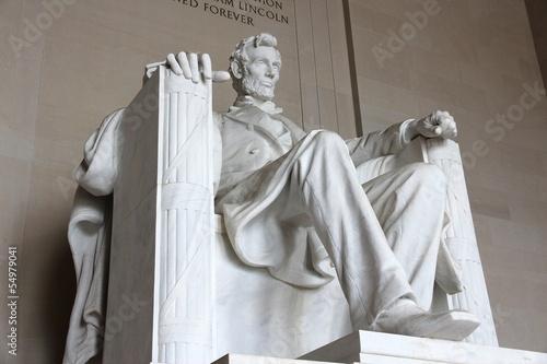 Fotografia  Lincoln Memorial in Washington, DC
