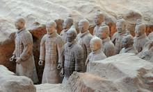 Terracotta Army Warriors In Xi...