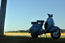 Vespa 150vbb Px Blau