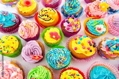 Photo  Birthday cupcakes