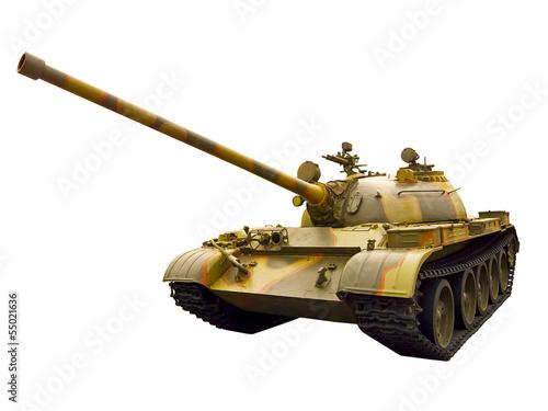 Photo  Soviet tank of World War II