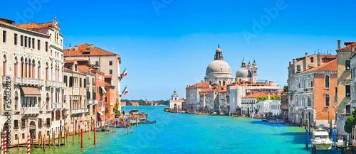 Photo Grand Canal and Basilica Santa Maria della Salute, Venice, Italy
