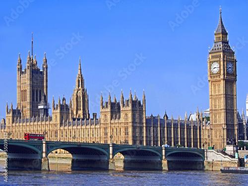 Papiers peints Londres London, Parliament Building and Westminster Bridge