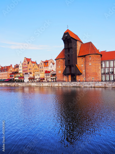 Old Port Crane in Gdansk, Poland © Karol Kozłowski