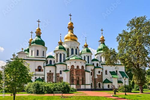 Photo Stands Kiev St. Sophia Cathedral, Kyiv, Ukraine.