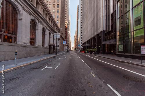 Foto op Plexiglas Chicago Montgomery street in San Francisco